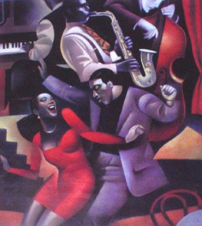 Artify Collections - Hand Painted High City Life Oil Painting Number 042, $74.14 (http://artifycollections.com/hand-painted-high-city-life-oil-painting-number-042/)
