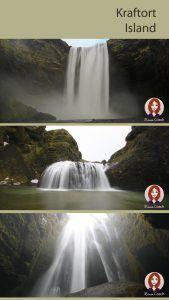 Die Wasserfälle entlang der Südküste Islands, wie Seljalandsfoss, Gljúfrafoss, Skógarfoss, Stjórnafoss, Svartifoss, … um nur ein paar der unzähligen Fosse zu nennen …