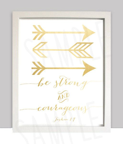 Gold ARROW Nursery Wall art Tribal Print Bow by littlebirdieprints