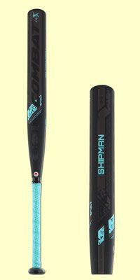 The 2017 COMBAT Madison Shipman -10 Fastpitch Softball Bat (FP7TC110) is a one-piece fully composite design that is used and approved by National Pro Fastpitch Softball player, Madison Shipman. Check out this model and other Combat fastpitch softball bats over at JustBats. We offer free shipping every day and we're with you from click to hit!