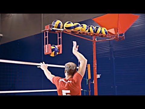 Best of Club Volleyball: Transition Training Drills - Max Miller - YouTube