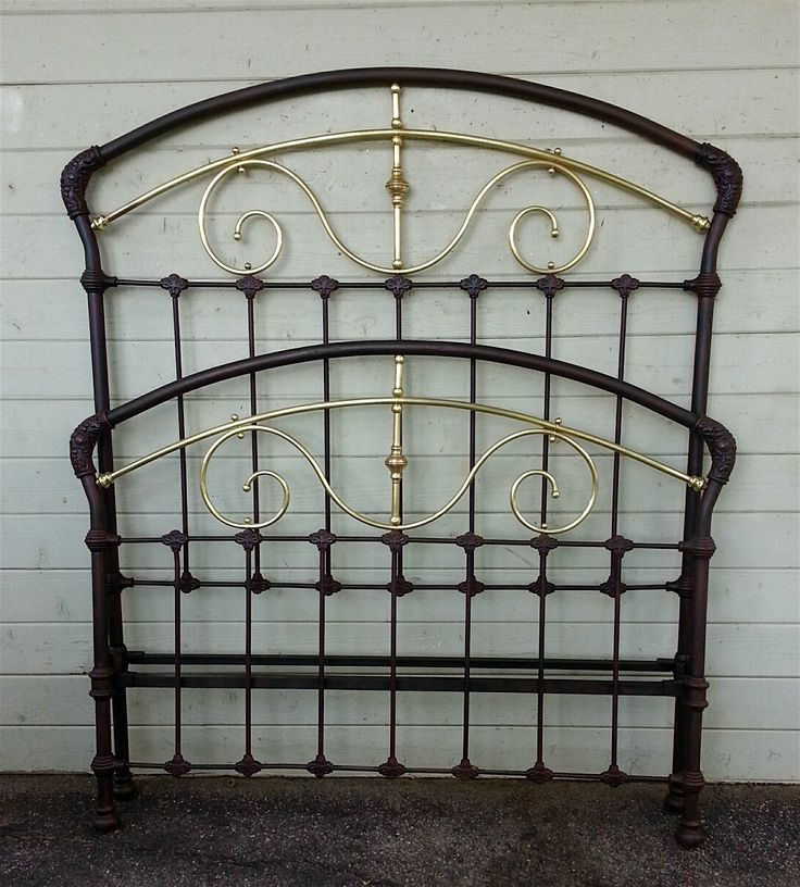 Victorian White Iron Beds : Best images about antique iron beds on