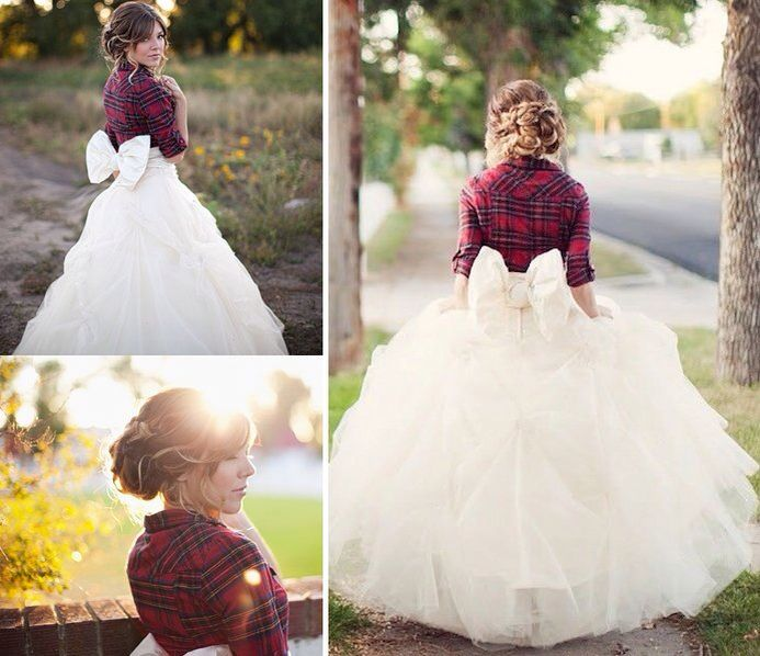 37 best winter wedding ideas images on pinterest winter wedding winter wedding ideas plaid bridal shrug the plaid shirt made me think of you grande grande carr lindsey carr junglespirit Gallery