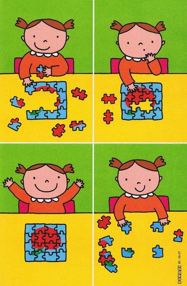 stappenplan bij het puzzelen