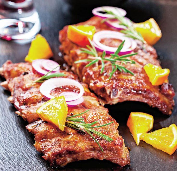 Coaste de porc marinate | Retete culinare - Romanesti si din Bucataria internationala