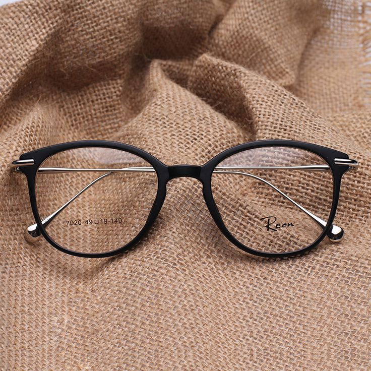 TR 90 Round Eye Glasses Vintage Prescription Glasses Frame women and men