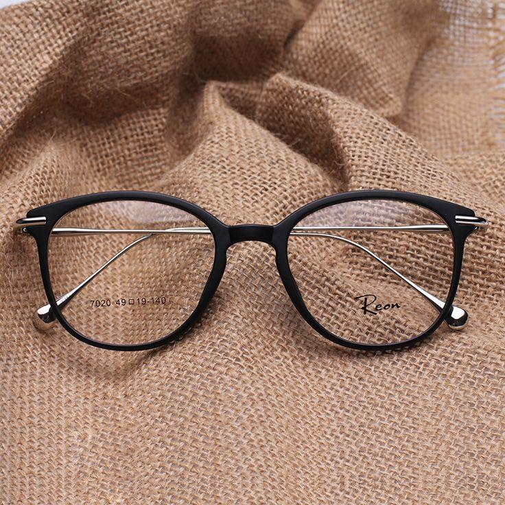TR 90 Round Eye Glasses Vintage Prescription Glasses Frame women and men