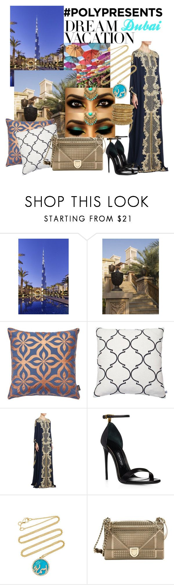 """""""#PolyPresents: Dream Vacation"""" by saltanat-orozalieva ❤ liked on Polyvore featuring Nina Kullberg, Marchesa, Names by Noush, Christian Dior, contestentry and polyPresents"""