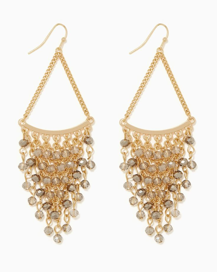 Charming Chandeliers That Make A Statement: Cascading Chandelier Earrings