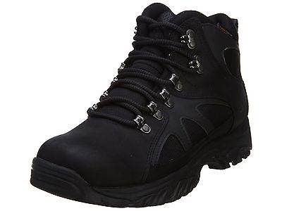 mens black walking boots