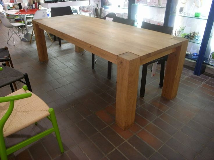 U0027Big Footu0027 Dining Table Designed By Phillip Mainzer In Solid Oak  Dimensions: X X High Was Now Available For Collection From Our Epping Shop  Or Can Be ...