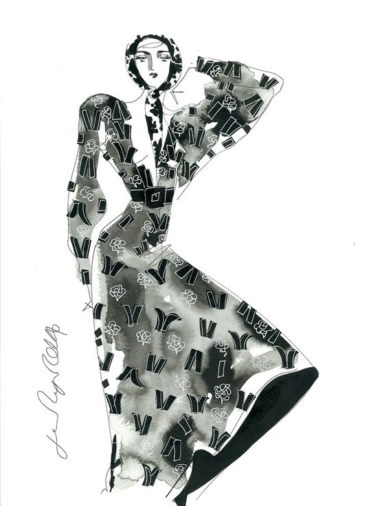 Jane Ryan fashion illustration