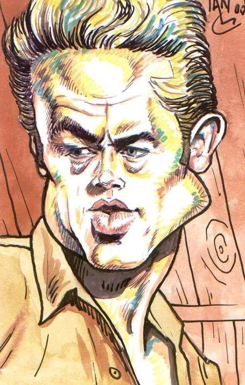 James Dean by Tora