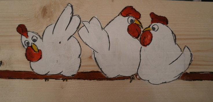 Kippen op stok 2