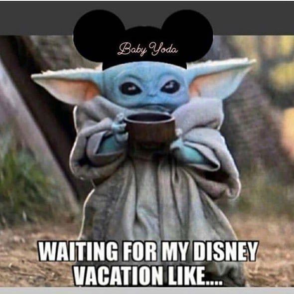 Baby Yoda On Instagram Yoda Yoda Meme Disney Vacations