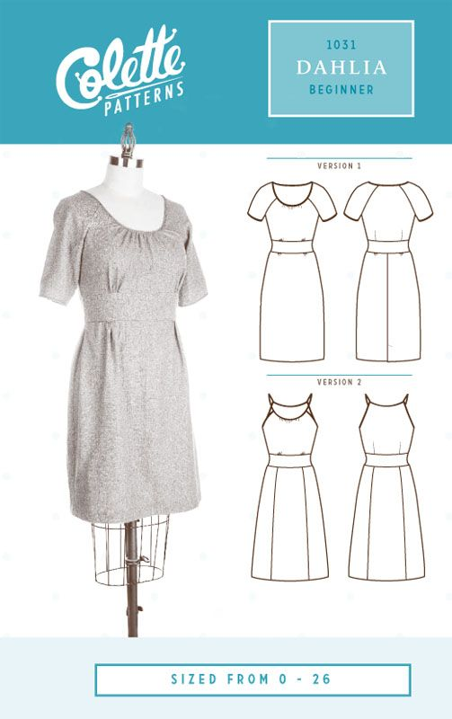 Dahlia by Colette Patterns: in ponte for winter, sleeveless version in rayon for summer...