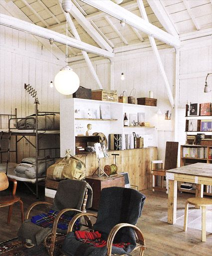looks like such an amazing shop & space....of course its in Japan...