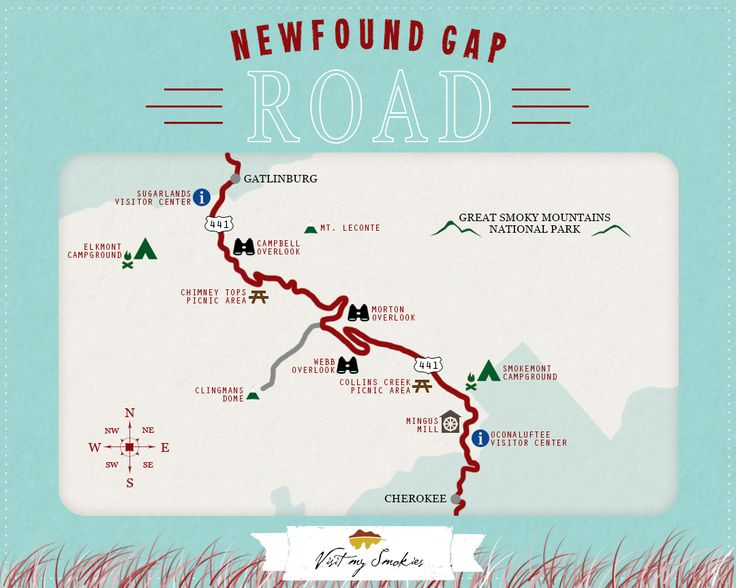 Are you looking to drive the Newfound Gap Road? Here are some places you will want to stop and see!