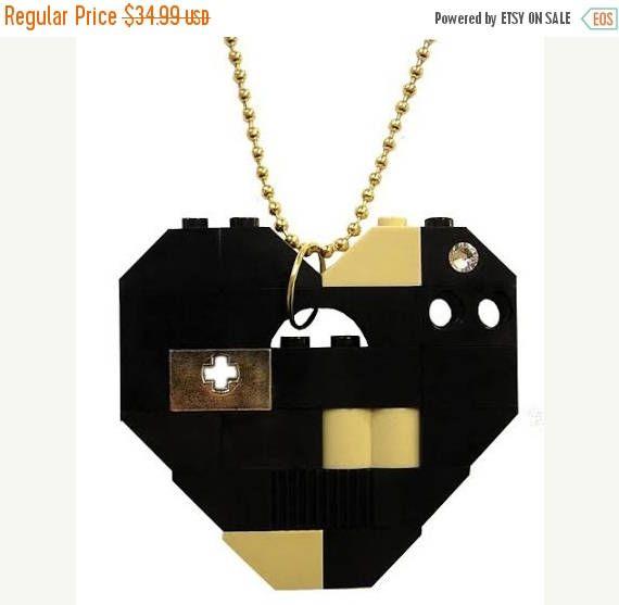 ON SALE Geek chic fancy personalized gift  Custom-made order #MademoiselleAlma #LEGO #ETSY