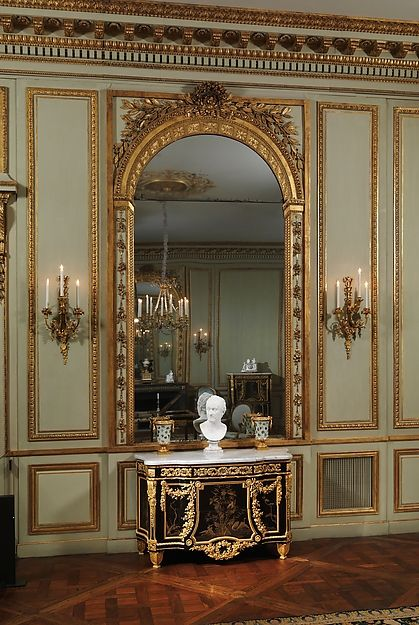 grand salon from the h tel de tess paris french. Black Bedroom Furniture Sets. Home Design Ideas