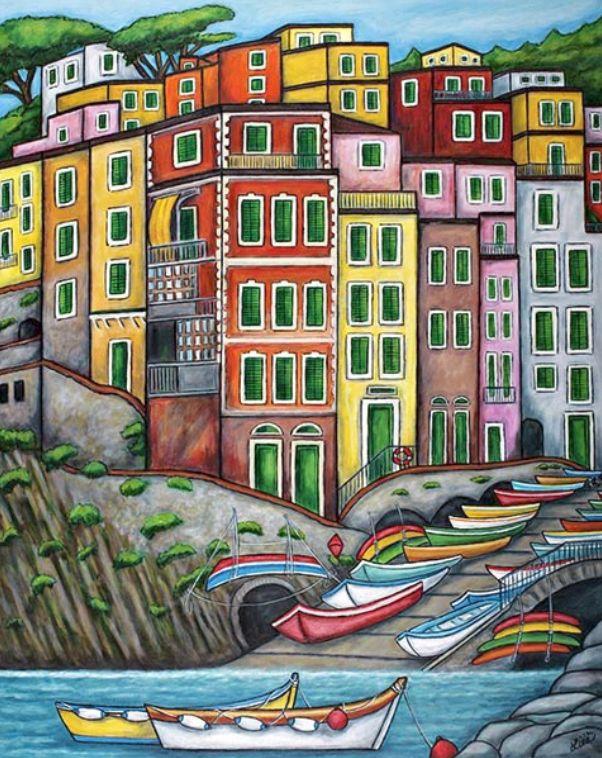 Lisa Lorenz Paintings | Travel Series Gallery
