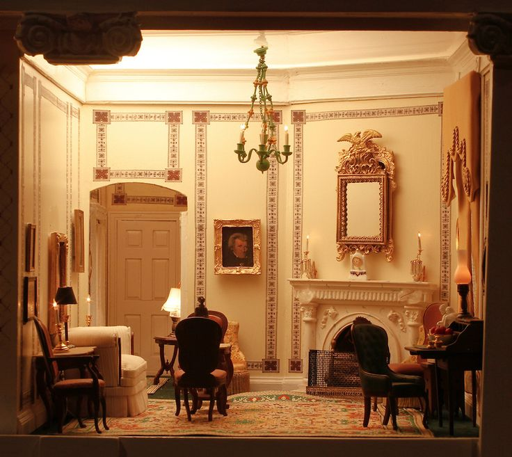 """1000+ Images About """"The White House"""" Doll House On"""