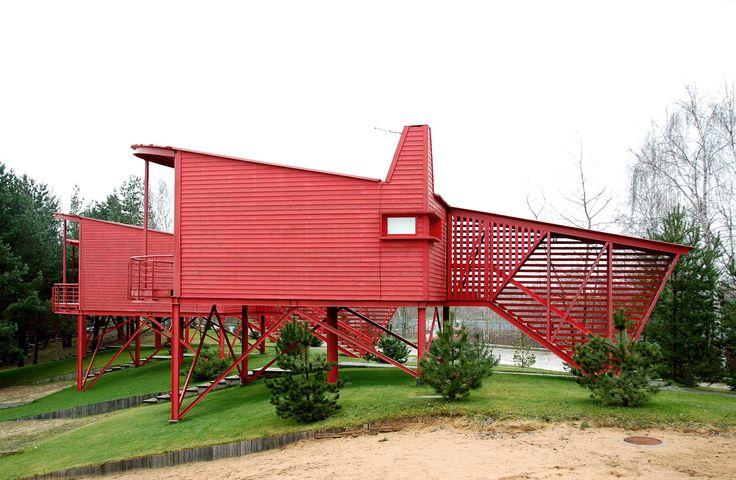 Красные гостевые домики | Totan