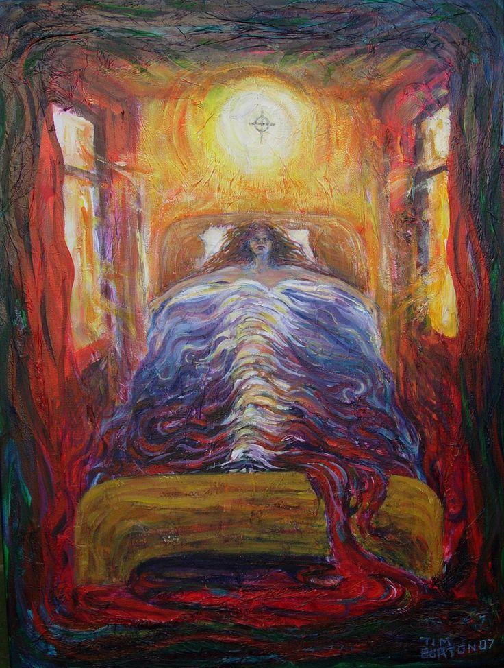 Morning Light, acrylic on canvas, Wakefield Artist Tim Burton.