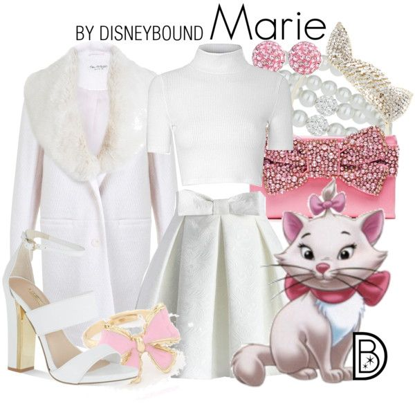 Marie by leslieakay on Polyvore featuring Glamorous, Miss Selfridge, Chicwish, Carvela, Kate Spade, Bling Jewelry, BCBGMAXAZRIA, Disney, Christmas and disney