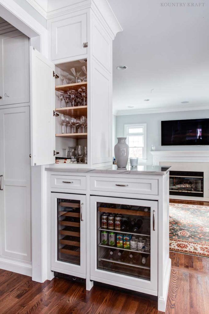 hard maple wine glass cabinets and wine coolers madison new jersey rh pinterest com