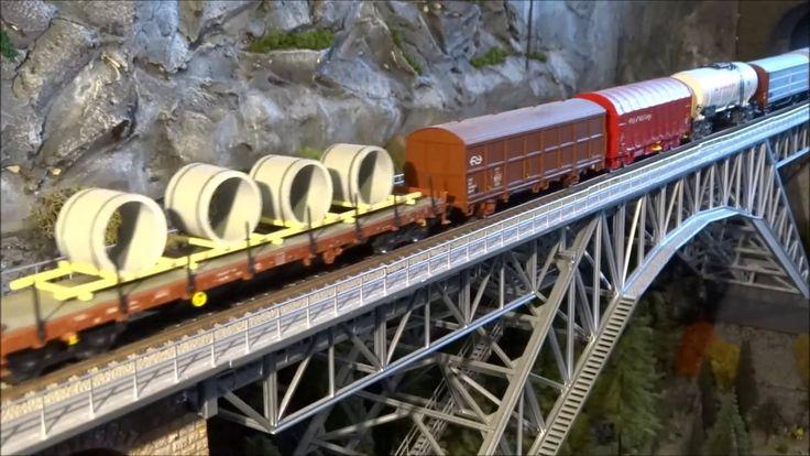 Model Treinbaan Impressie