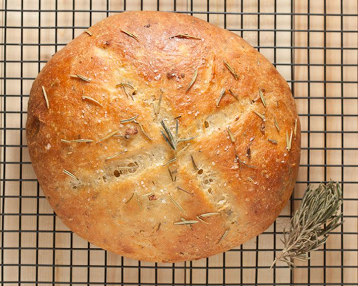Rosemary And Garlic Coconut Flour Bread is one of the easiest recipes to start with when you start baking with coconut flour!