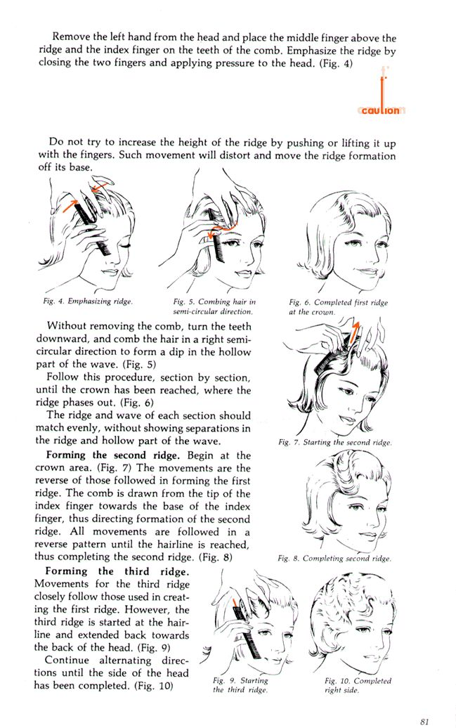 how to do the marcel wave