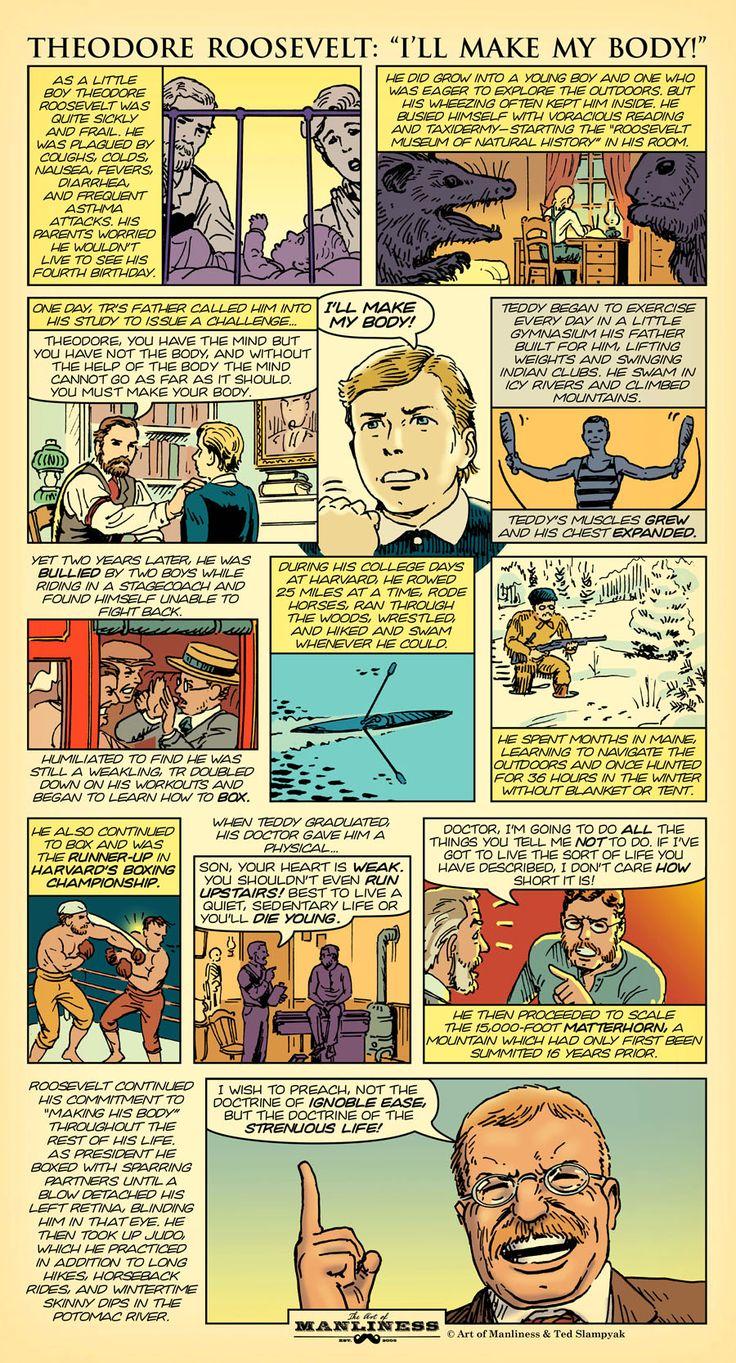 Original AoM Comic #2: Theodore Roosevelt — I'll Make My Body!