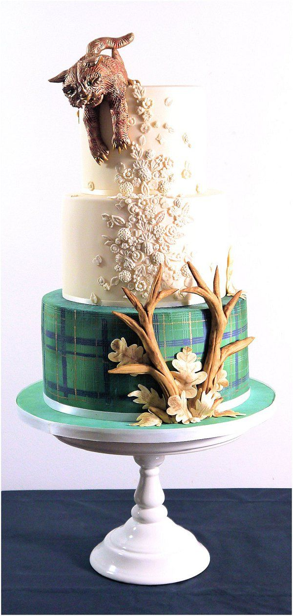 best 25 unusual wedding cakes ideas on pinterest. Black Bedroom Furniture Sets. Home Design Ideas