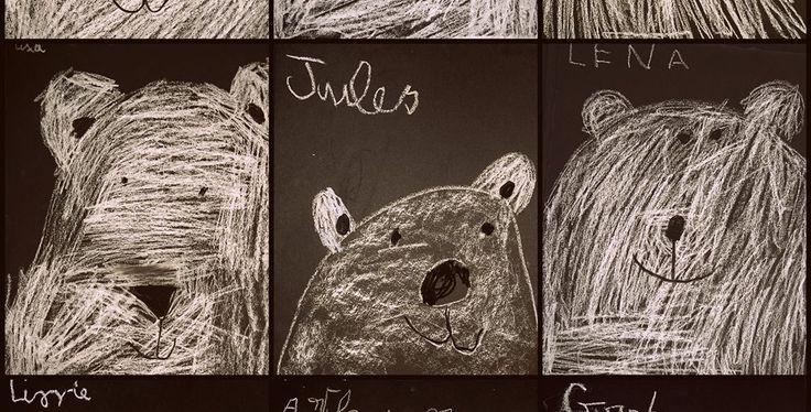 Les 25 meilleures id es de la cat gorie ours polaire dessin sur pinterest - Comment dessiner un ours ...