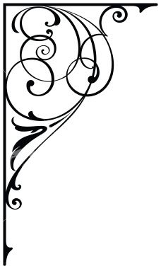 Corner Design Royalty Free Stock Vector Art Illustration