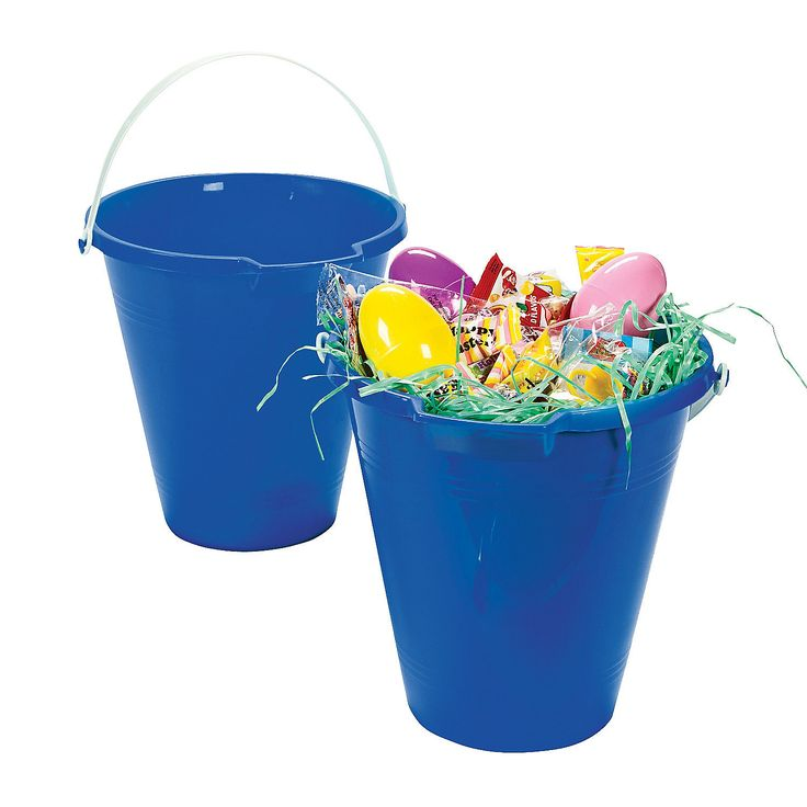 Blue Sand Bucket - OrientalTrading.com