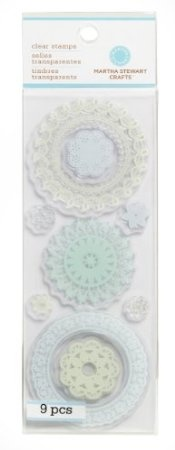 Amazon.com: Martha Stewart Crafts Clear Stamps, Doilies: Arts, Crafts & Sewing