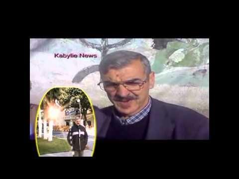 Le poète Mohand Azouaou et Kabylie News