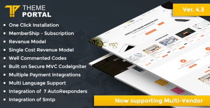 Theme Portal Marketplace v4 3 Nulled | Nulled Scripts | Portal