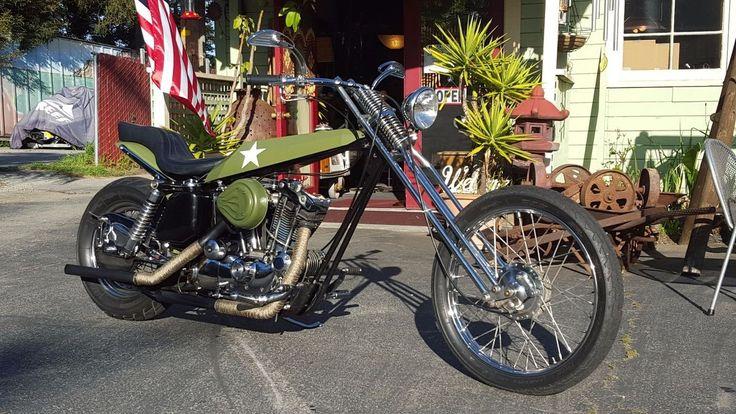 1972 Harley-Davidson Arlen Ness Digger Chopper for sale via Rocker.co