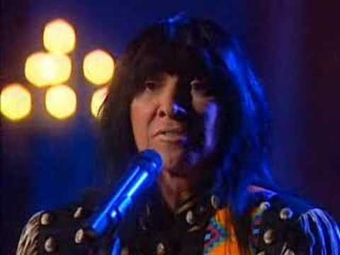 """Buffy Sainte-Marie - Universal Soldier.Sask      Buffy Sainte-Marie Once blacklisted by the U.S. government for producing work that could """"encourage widespread citizen protest,"""" Saskatchewan-born artist Buffy Sainte-Marie has built a career around songs of love and dissent. Her """"Universal Soldier"""" became a popular anti-war anthem in the '60s, while her love song """"Up Where We Belong"""" won an Academy Award for best song after it was featured on the soundtrack for """"An Officer and a Gentlem"""