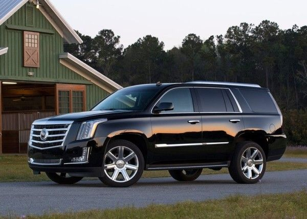 2015 Cadillac Escalade Black Side 600x428 2015 Cadillac Escalade Review Details