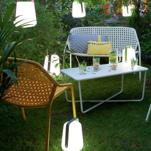 Lampe Balad H25 Fermob Verveine - lampe à poser