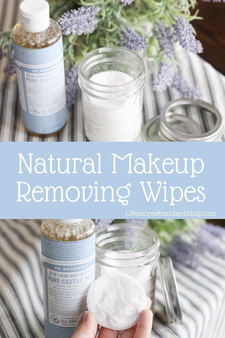How To Make Make-up Eradicating Wipes // DIY Make-up Remover Wipes // Pure Make-up …