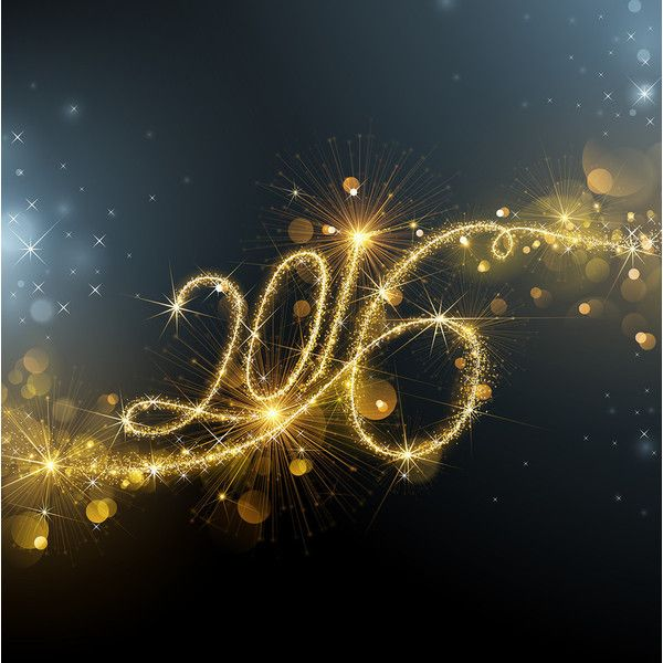 2016 Merry Christmas and Happy New Year vector background 5 (10) [преобразованный] found on Polyvore featuring 2016