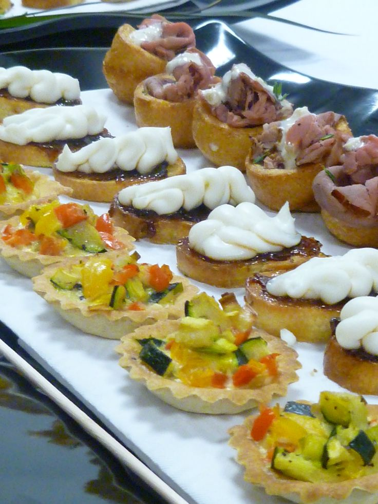 Canapes christmas pinterest m s ideas sobre for Canapes y aperitivos