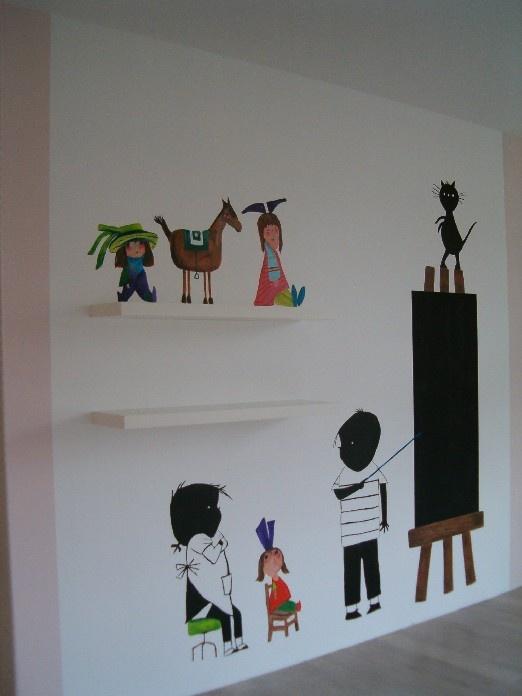 Ah lief! Fiep Westendorp op de muur! | ELLE Decoration NL