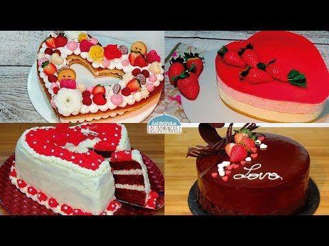 Las 4 mejores tartas para San Valentín - ¡Súper deliciosas! - Recetas pa...